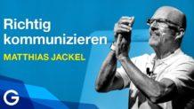 """""""Steh auf für deine Sache!"""" – Warum Kommunikation Pioniere braucht // Matthias Jackel"""
