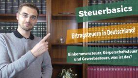 Ertragsteuern in Deutschland, welche sind das?