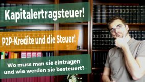 P2P in der STEUERERKLÄRUNG! Besteuerung in Deutschland!