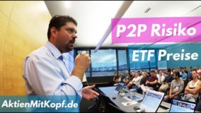 P2P Risiken & ETF Kurse - Frag Richy